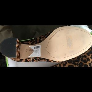 893578b3927301 Sam Edelman Shoes - Sam Edelman Cambell Leopard Ankle Booties 10.5M